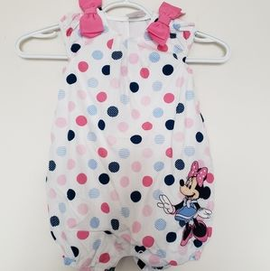 100% Organic cotton disney baby body suit 18-24 M